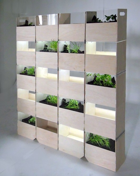 Indoor Herb Garden | Innovative Projects For Homes With Fewer Windows